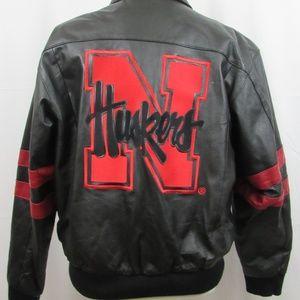 Excelled Nebraska Cornhuskers varsity jacket sz L